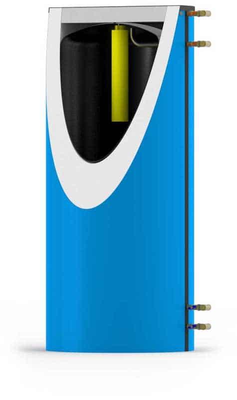 Der SpeedPower Schichtspeicher - Mit Schichtsystem